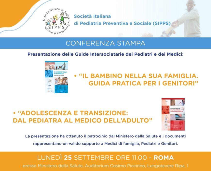 Conferenza Stampa SIPPS 25 Settembre 2017 presso Ministero della Salute