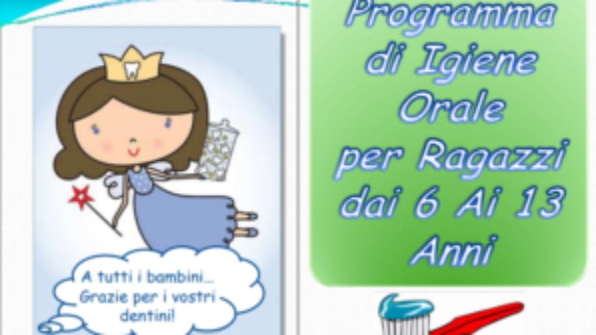 Igiene Oraleper Ragazzi dai 6 ai 13 Anni