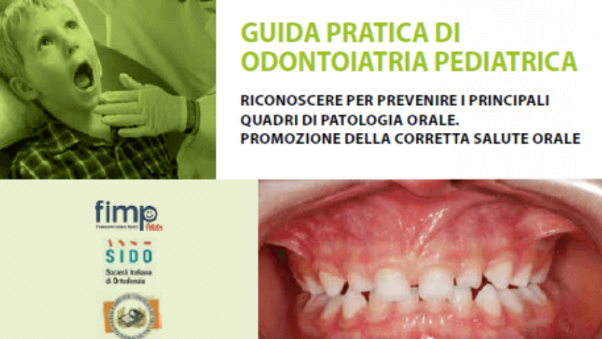 Odontoiatria in età pediatrica