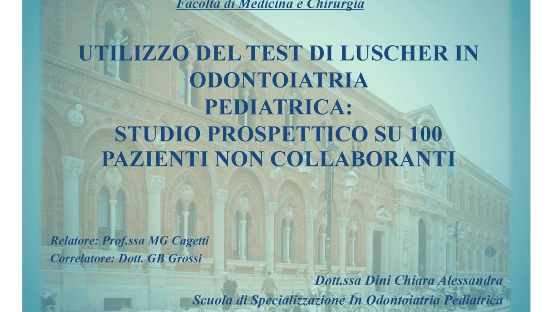 dott.ssa Chiara Dini – Tesi