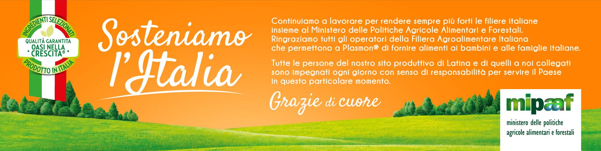 Plasmon – Sosteniamo l'Italia